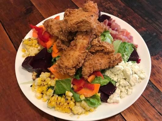 Fried Chicken Salad (3)
