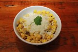 Mexican corn with cotija cheese