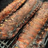 Georgia's BBQ ribs