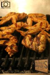 Char grilled Sampson wings